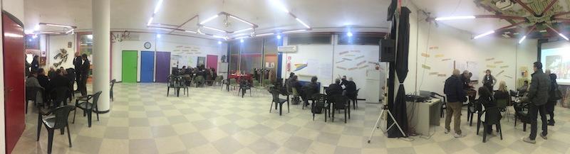 Gruppi di lavoro di cittadini a Tor Sapienza (foto AMBM)