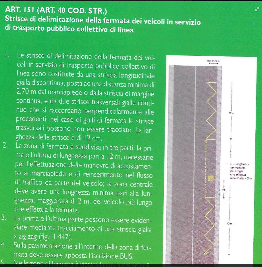 art 151 codice della strada
