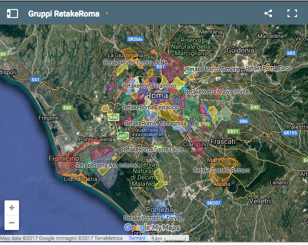 mappa gruppi retake
