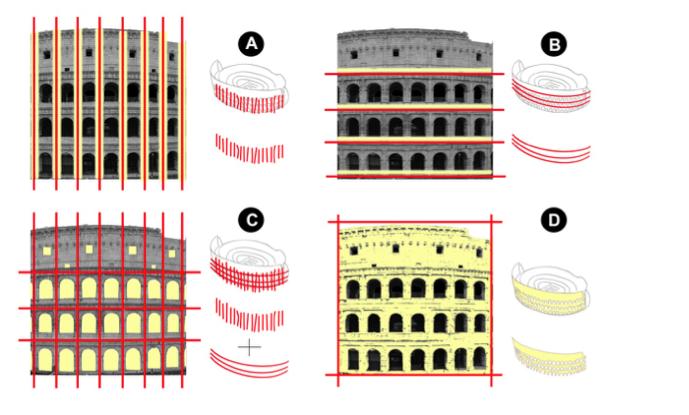 slide da Linee guida per il  nuovo sistema di illuminazione del Colosseo