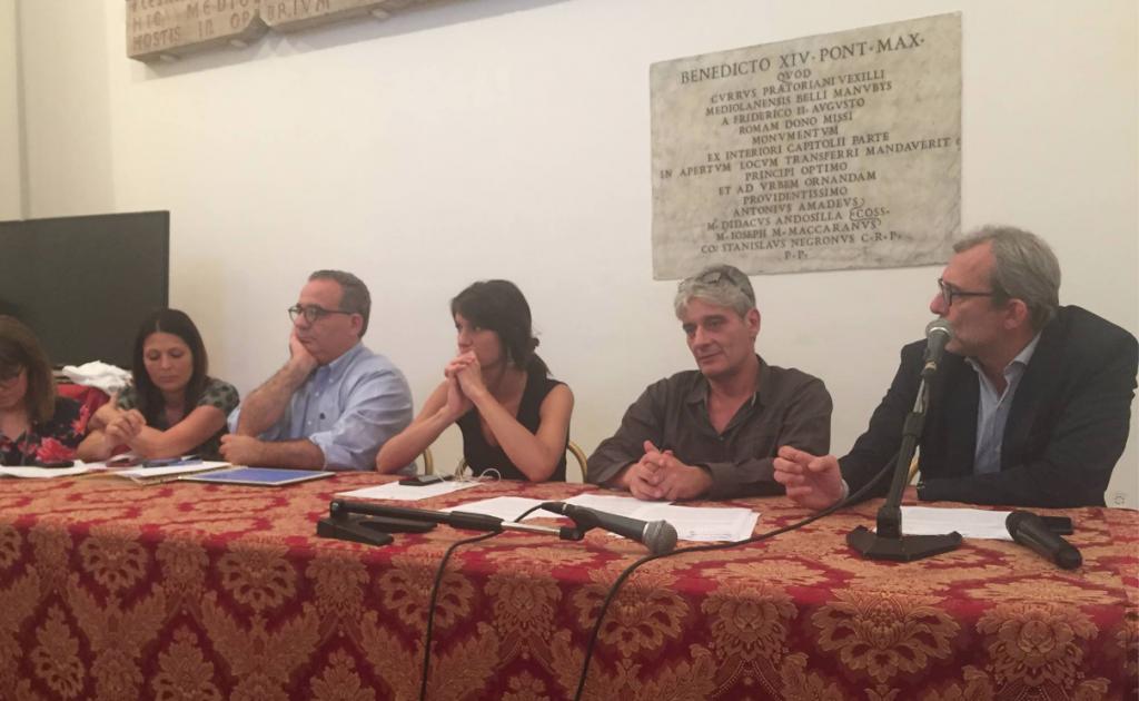 La conferenza stampa del PD del 13 giugno 2017 con l'ex assessore Caudo