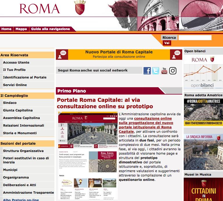 portale roma capitale 1 giugno 2017
