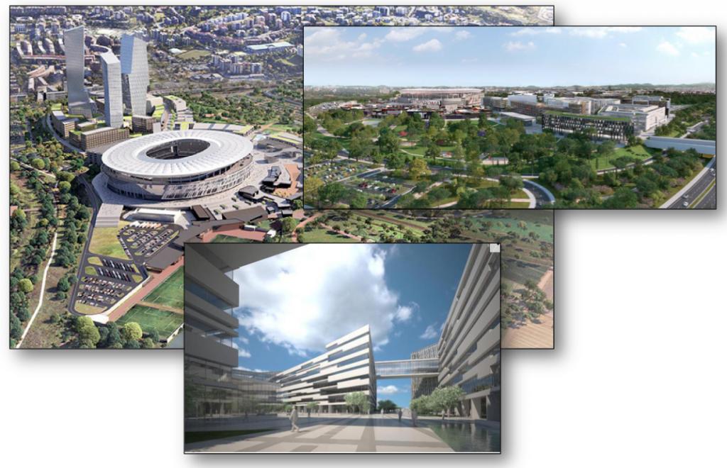 rendering stadio 2014 2017