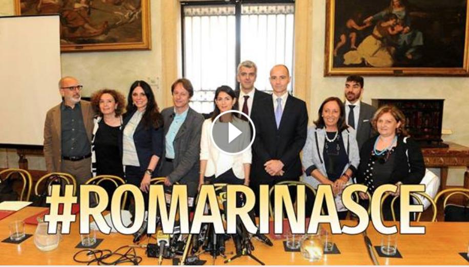 vidoe roma rinasce conf stampa 21 giugno