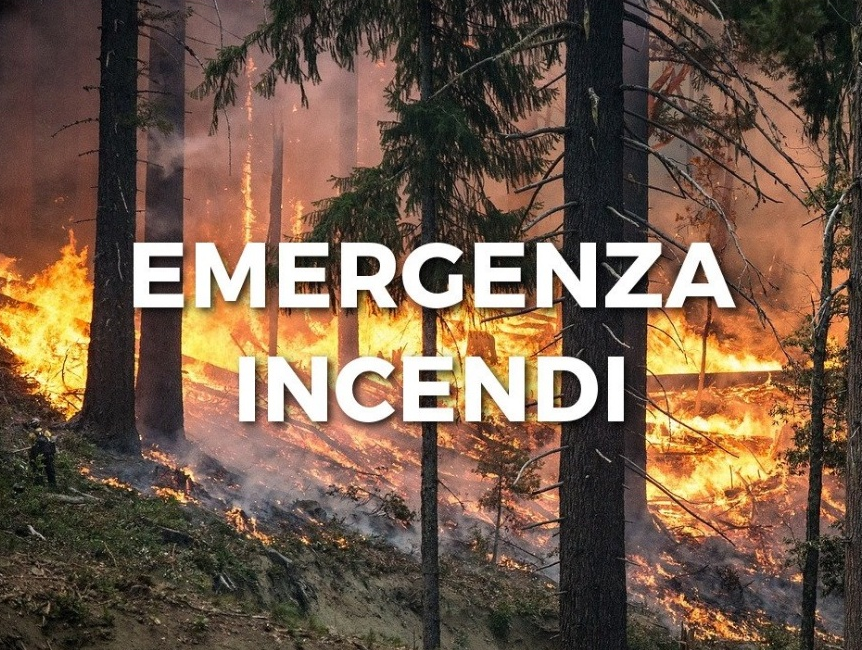 emergenza incendi da green report