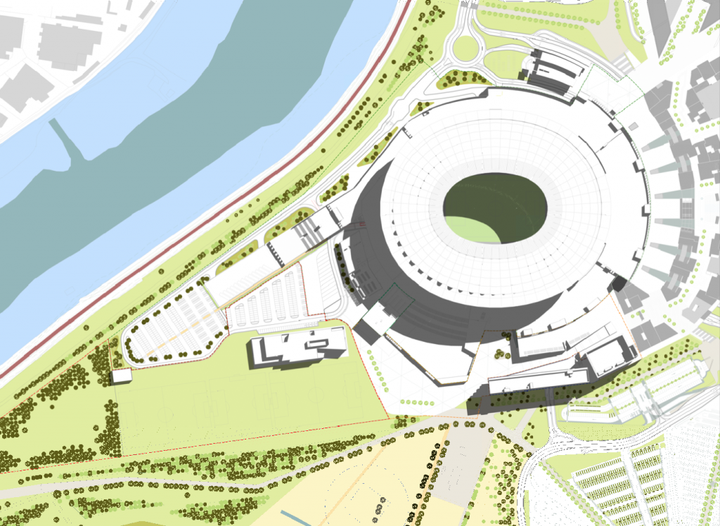 stadio rendering opere private sett 2017