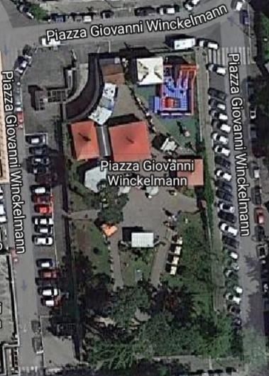 Piazza Winckelmann map