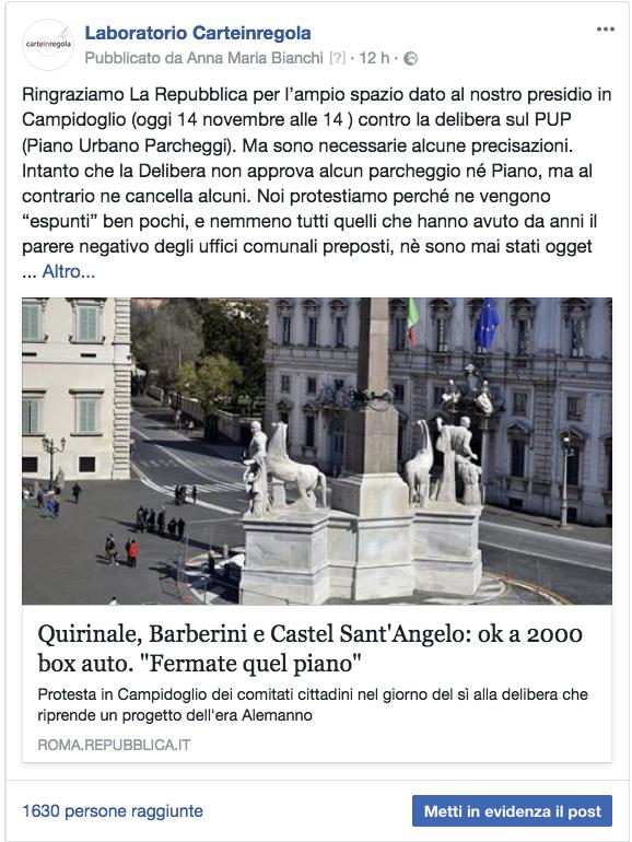 facebook post su articolo RepubblicaSchermata 2017-11-14 alle 22.32.02