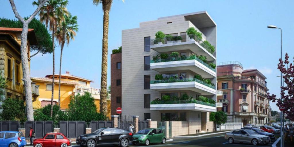 Progetto della nuova palazzina di Via Ticino pubblicata dai giornali