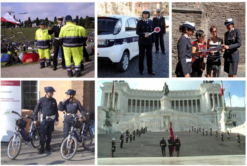 copertina manuale servizi polizia urbana roma