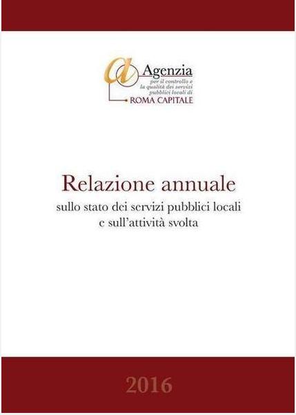 copertina rapporto agenzia controllo qualita roma 2017