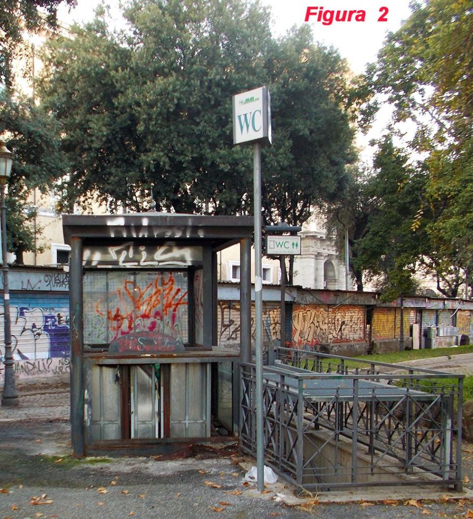 : Fig. 2 Largo di Villa Peretti (di fronte al Museo Nazionale Romano)