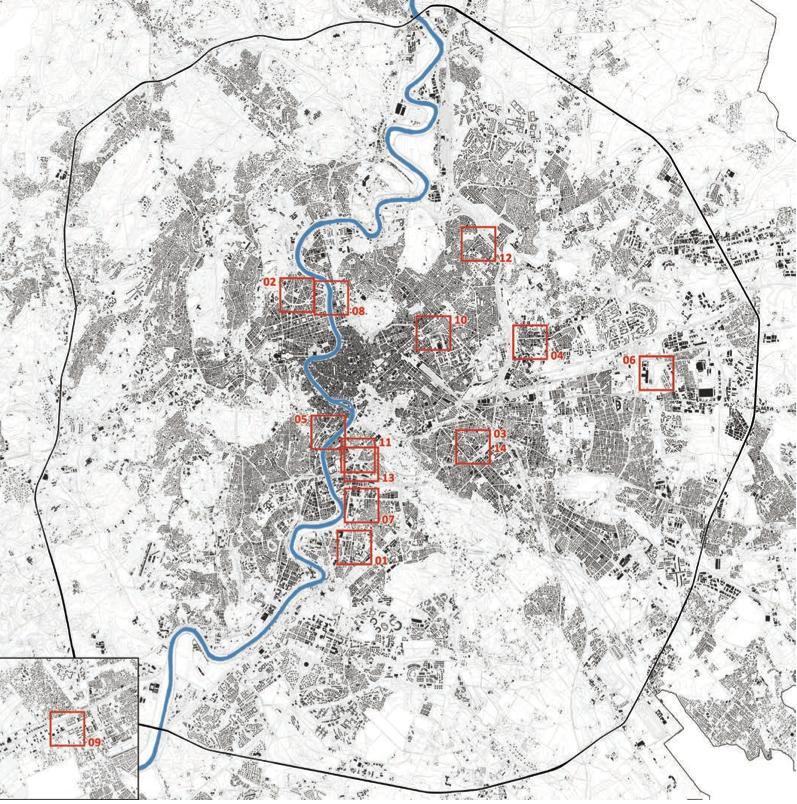 Mappa ptrimonio ATAC da La ricchezza dell'ATAC Università degli Studi Roma Tre LABIC Laboratorio ABItare la Città contemporanea