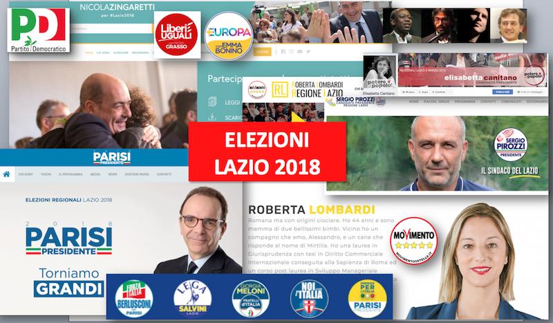 Mosaico candidati regione 3