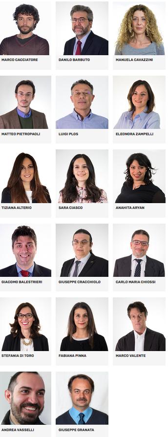 candidati M5s regionali 2018 2