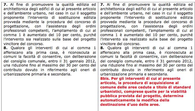 confronto art. 4 Polverini:Zingaretti 5