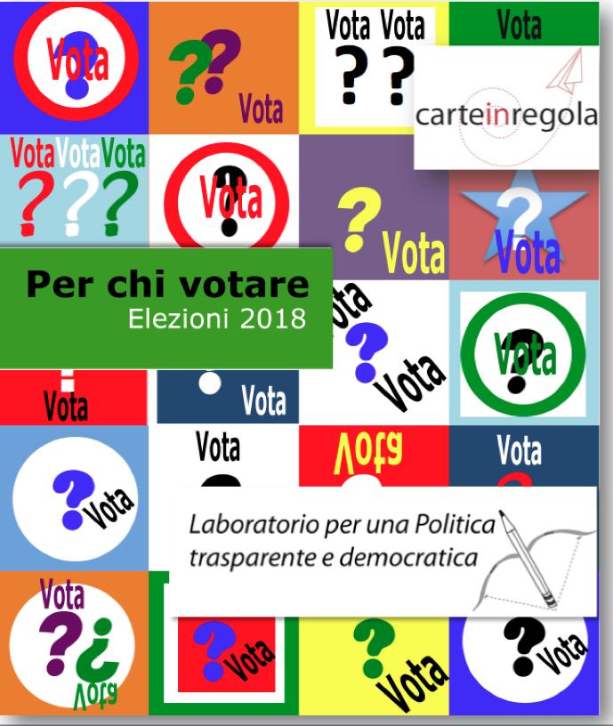 copertina per chi votare