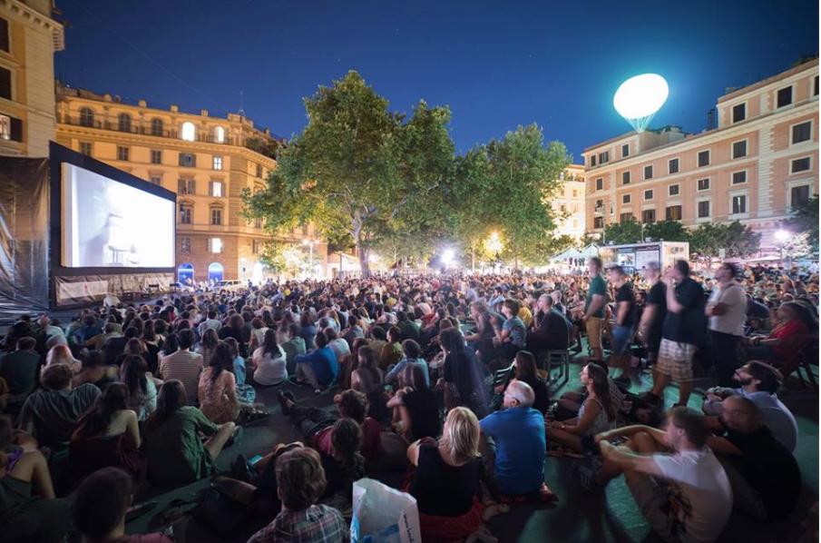 foto da pagina Fb piccolo cinema america Piazza san cosimato