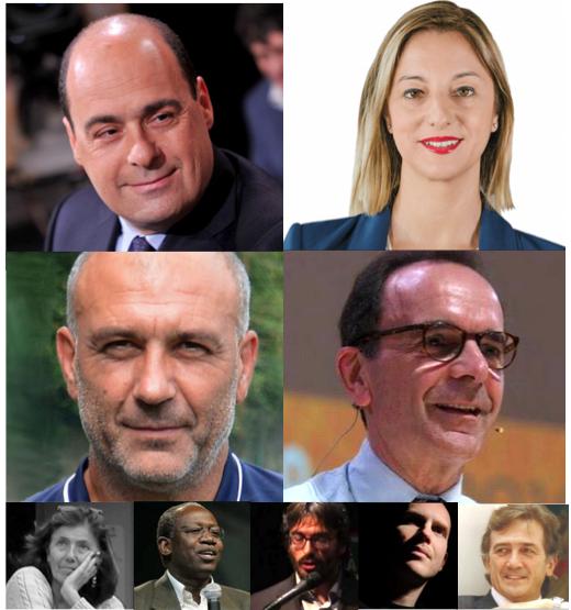 mosaico candidati lazio 2018