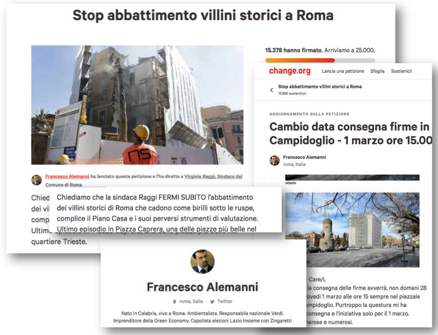 petizione villini Schermata 2018-02-28 alle 20.00.44