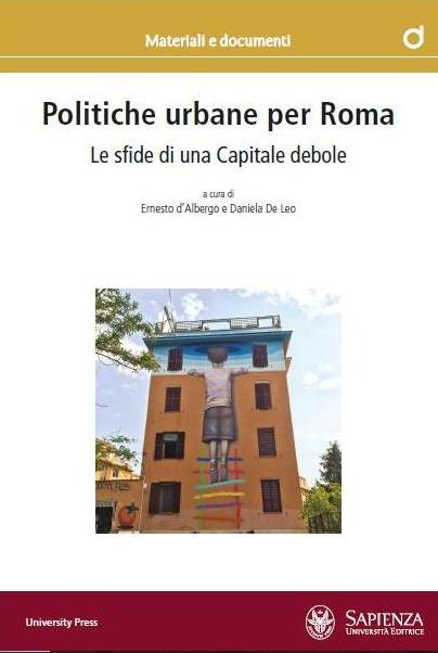 copertina libro politiche urbane per Roma