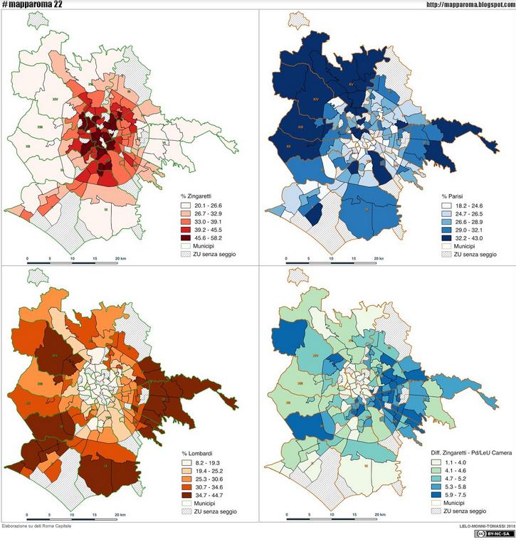 mapparoma elezioni regionali LazioSchermata 2018-03-28 alle 09.04.06