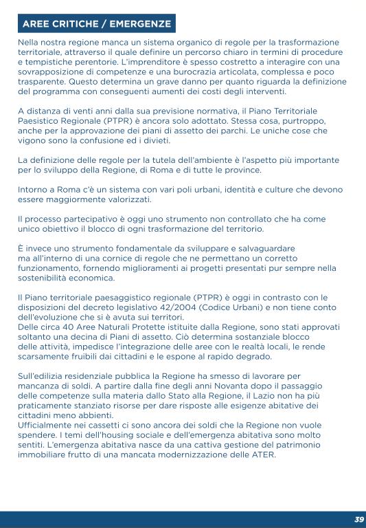 programma Parisi urbanistica 2018 1