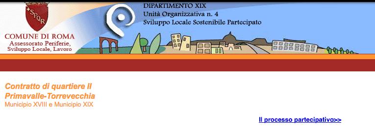 contratto quartiere primavalle da archivio dip comune roma