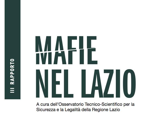 copertina mafie nel Lazio