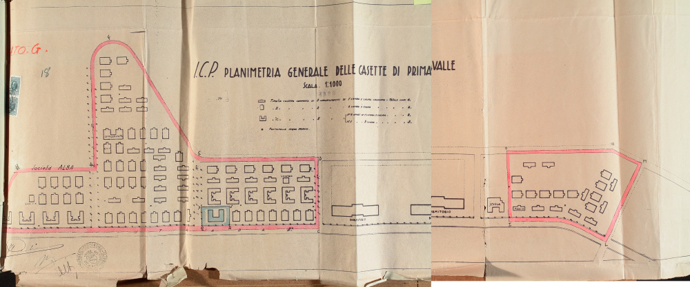 da primavalleinrete planimetria casette primavalle  1936