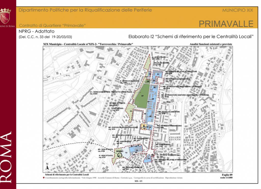 primavalle elab 12 schemi per centralita locali- contratto quartiere sito comune