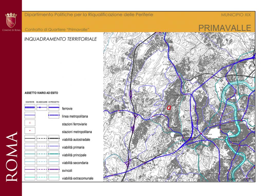 primavalle inquadramento territoriale - contratto quartiere sito comune
