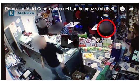Frame del video diffuso da La Repubblica