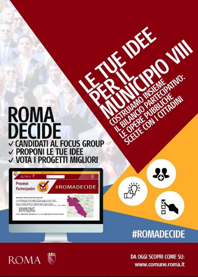 Roma decide piazza navigatori