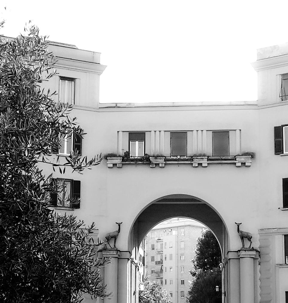 casal bertone Palazzo dei Cervi - Cenni Storici