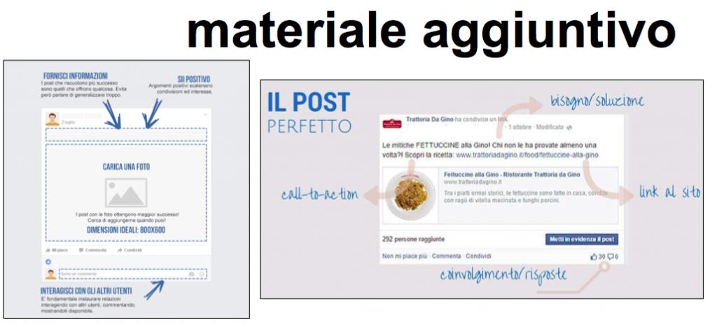 fb materiale aggiuntivo