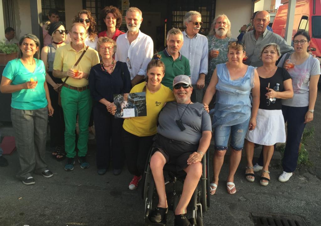 foto di gruppo cate roxy bar 3 luglio 2018