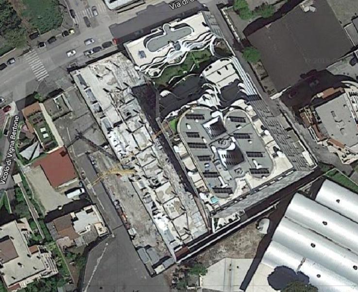 google map Nuovo Mercato via Pollio