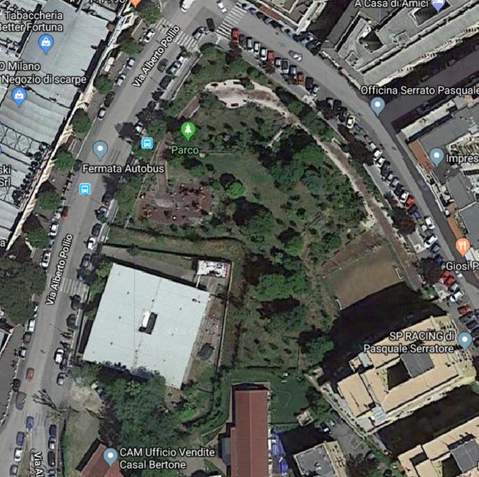mappa Parco Conticelli