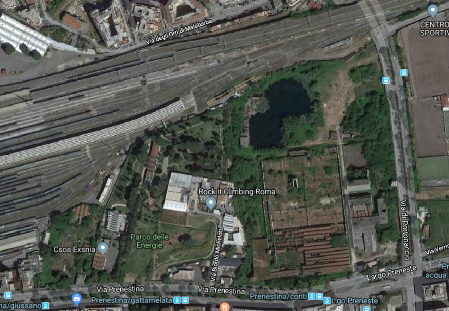 google map parco ex snia