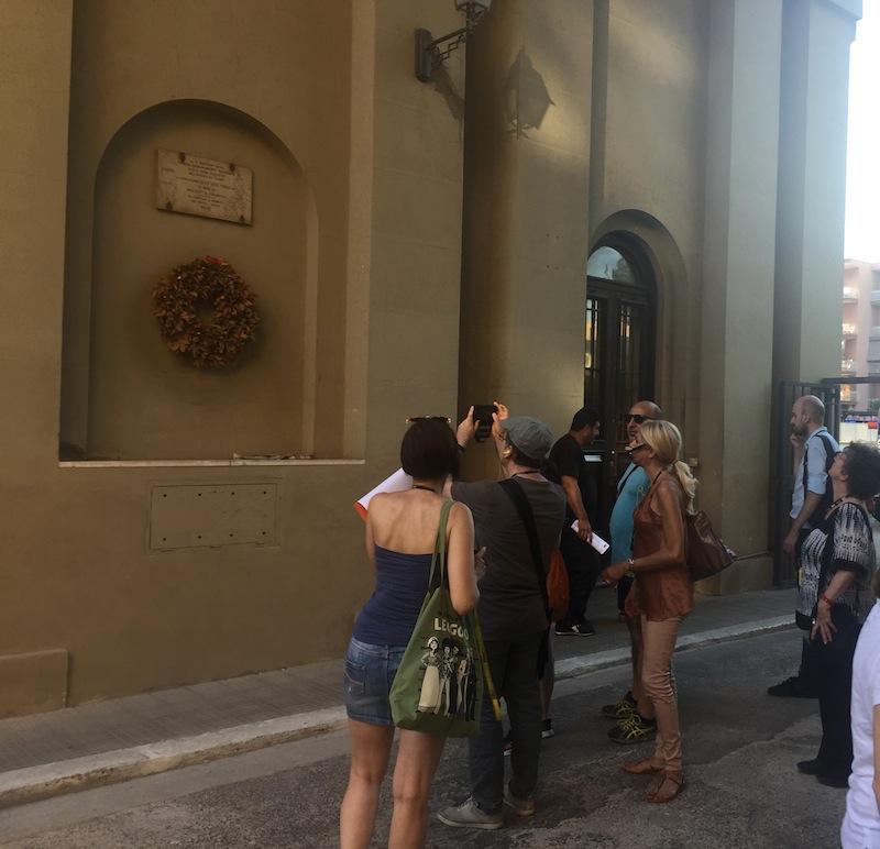 piedipeterra Casalbertone gruppo targa partigiano palazzo dei cervi IMG_5574