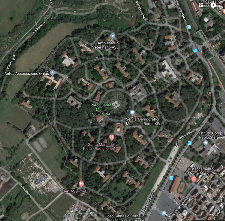 santa maria pieta map google