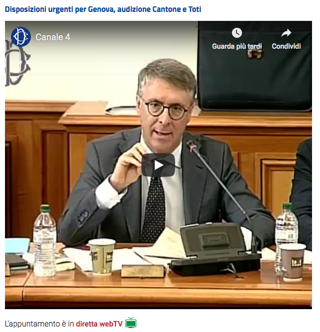Camera Cantone su misure Genova