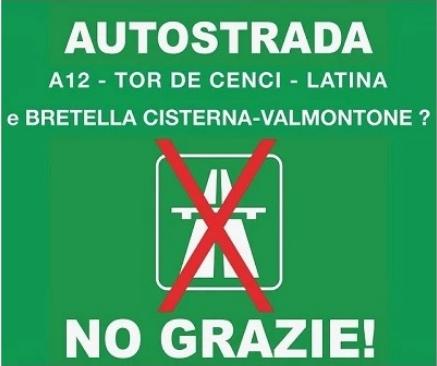 no corridoio roma latina slogan