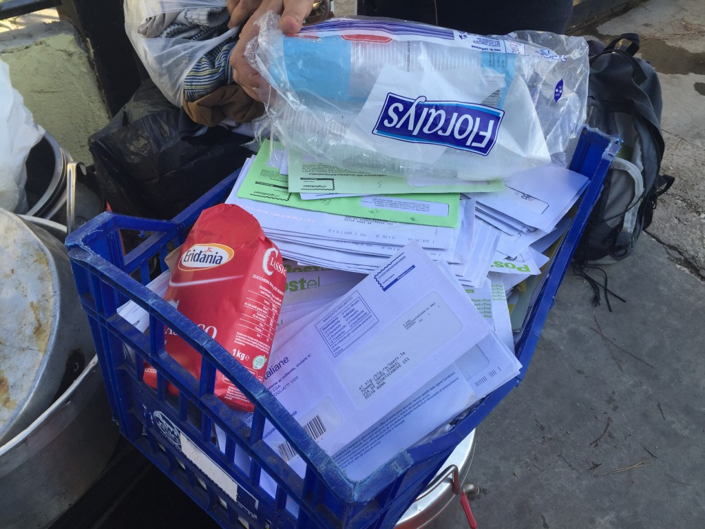La posta per i rifugiati recapitata a un indirizzo non  più attivo