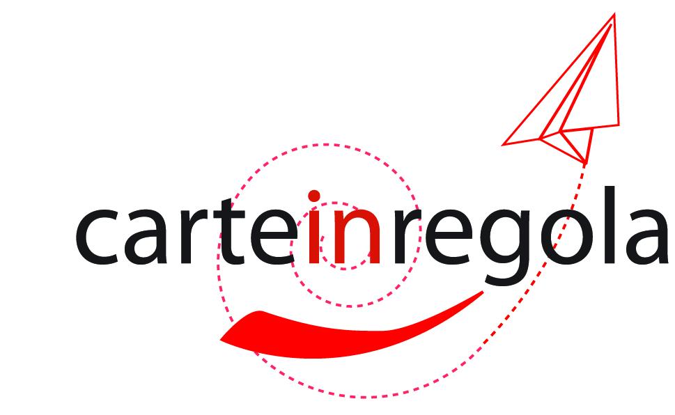 Logo carteinregola con baffo 2