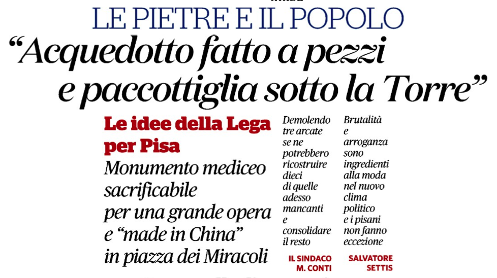 il fatto Montanari Pisa 26 11 2018