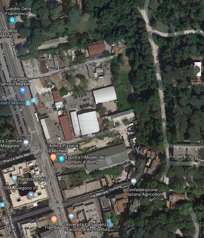 Borghetto Flaminio da Google map dicembre 2018