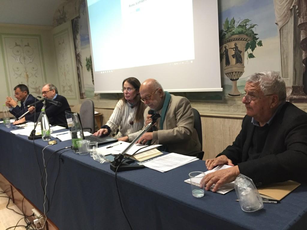 Incontro 19 dicembre 2018 - da dx Vezio De Lucia, Giancarlo Storto