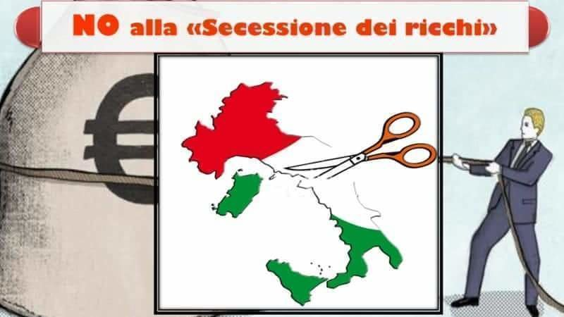 immagine da petizione secessione dei ricchi